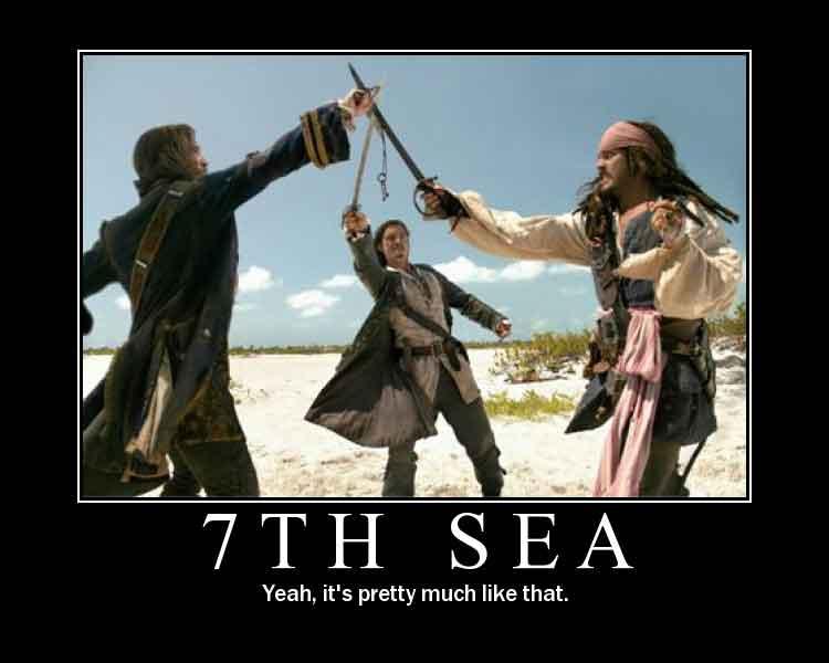 Due o tre cose che ho imparato da 7th Sea