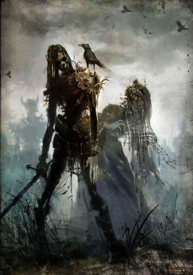 640x912_3296_Undead_2d_fantasy_guild_wars_undead_picture_image_digital_art