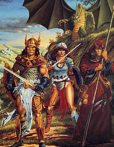 I Signori della Dragonlance: Weis e Hickman (non solo Tolkien) 4