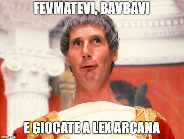 Lex Arcana e del perchè il gdr italiano è diventato grande